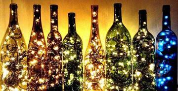 luces y recipientes