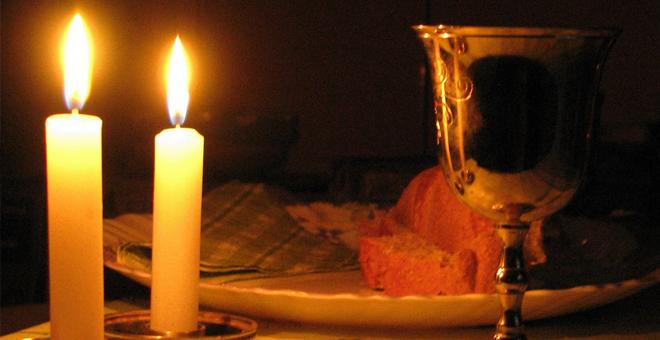 El vino y las velas